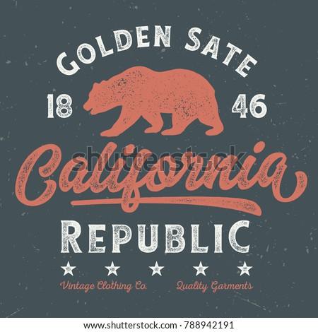 golden state california