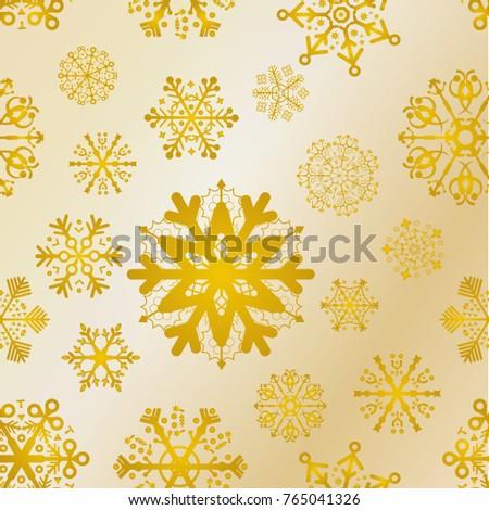 golden texture christmas pattern