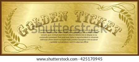 Shutterstock Golden Ticket