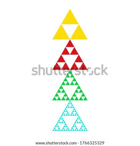 golden triforce geometric