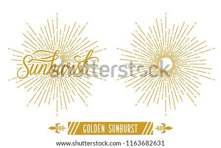 stock-vector-golden-vintage-sunburst-vector-template