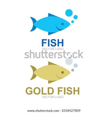 goldfish vector illustration