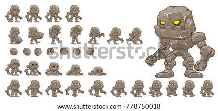 golem game character for