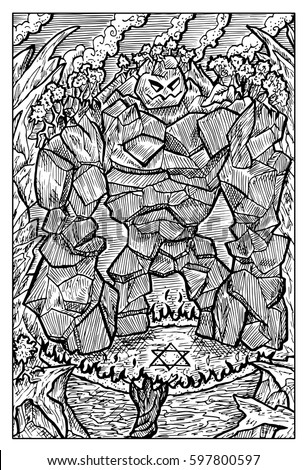 golem  stone monster  and
