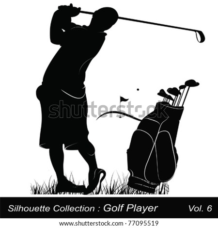Golf and golfer