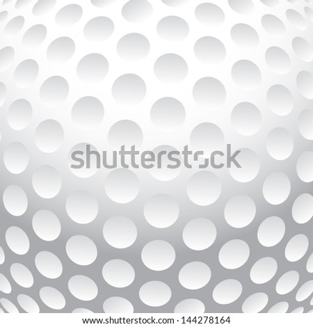 Golf ball background vector