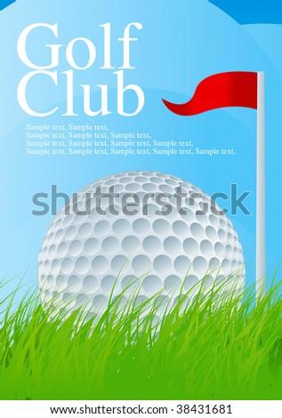 Golf Ball 1 Drawing