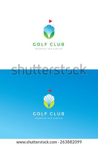 golf club logo teamplate