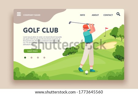 golf club web site sports club