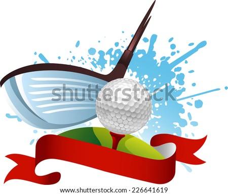 golf hit banner
