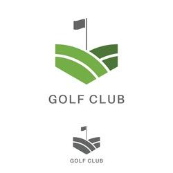 Golf logo club high quality