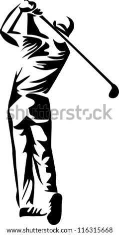 golf player icon