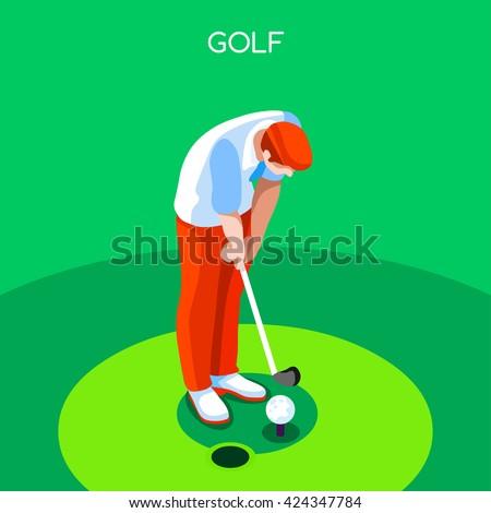golf player sportsman games
