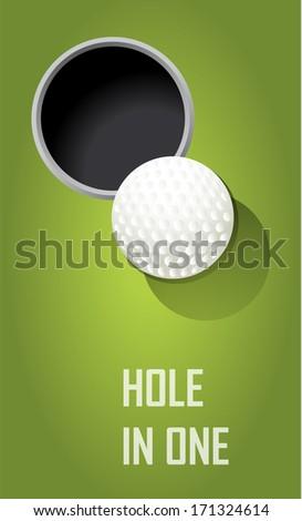 golf poster postcard sport