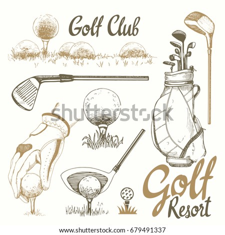 golf set with basket  shoes ...
