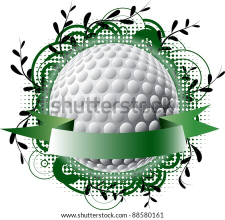 Golf theme logo