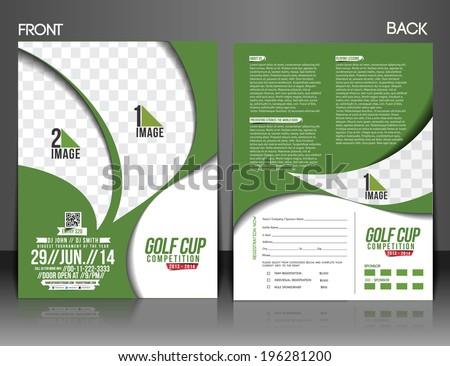 Golf Scramble Flyer Template