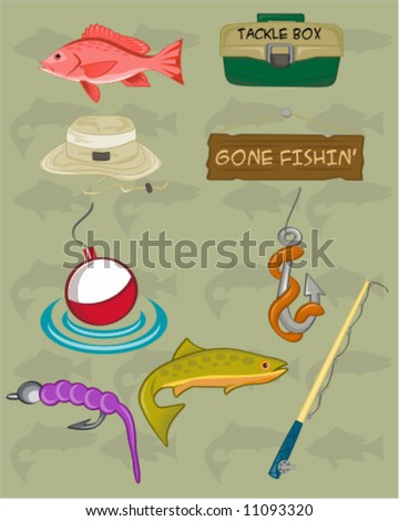 Gone fishing related graphics