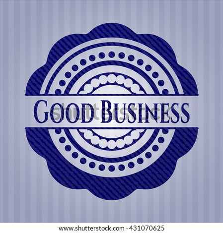 Good Business jean background