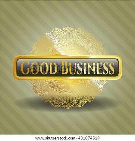 Good Business shiny emblem