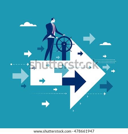 good direction businessman