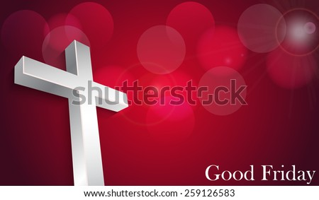 good friday background concept