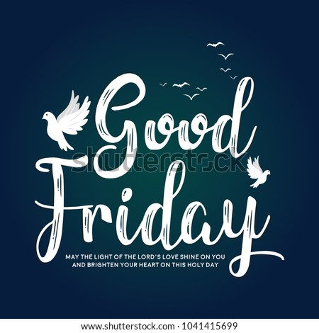 good friday vector illustration