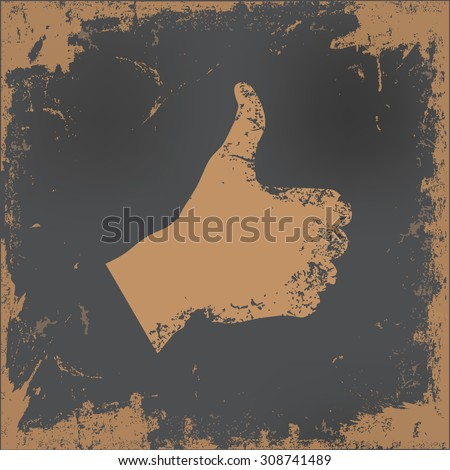 good hand design on old paper