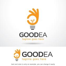 Good Idea Logo Template Design Vector