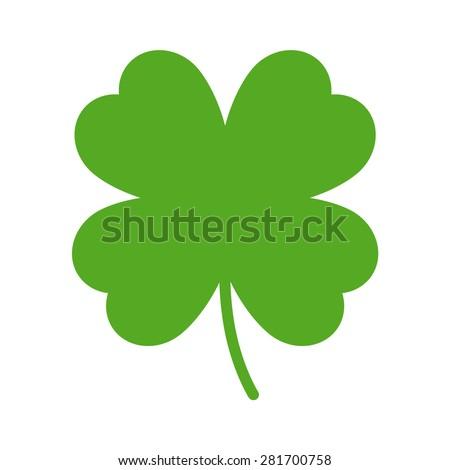 good luck clover or four leaf
