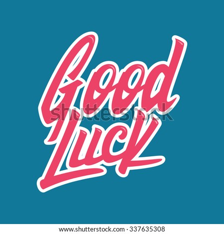 Good luck. Hand lettering