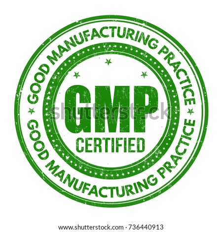 Good Manufacturing Practice ( GMP ) grunge rubber stamp on white background, vector illustration