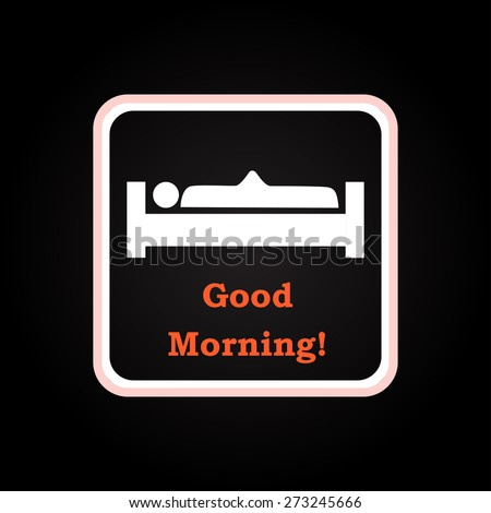 good morning    funny background