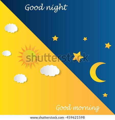 good morning good night day