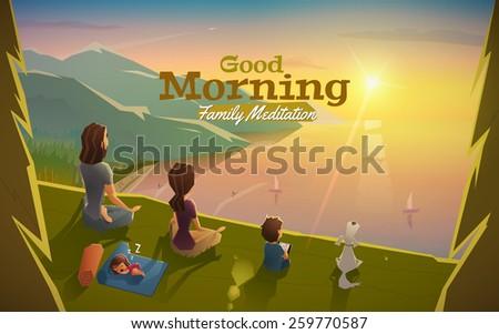 good morning  lets meditation