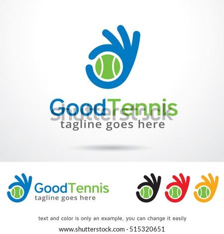 Tennis logo design Vector  Free Download