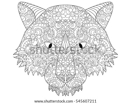 Royalty free vector ethnic indian elephant in 364573613 Good coloring books for adults