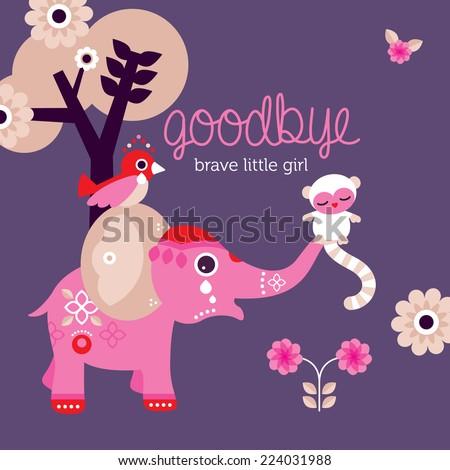 goodbye little girl condolences