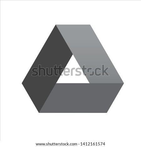 Google Drive icon grey logo vector template use for application, website, file document, blog,