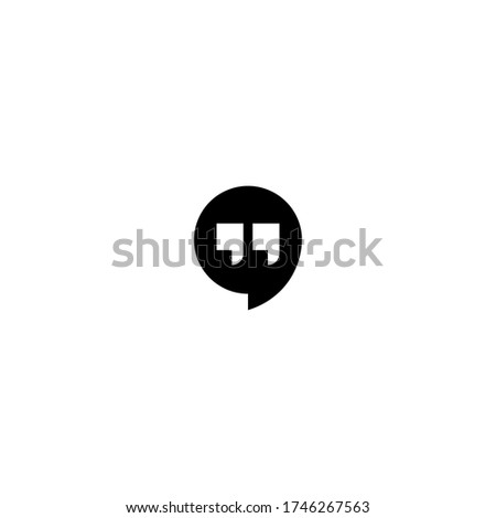Google hangouts logo. sign icon in trendy flat style isolated. modern symbol vector illustration for web