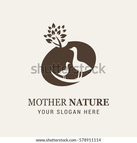 Goose Mother Nature Logo