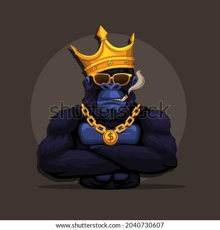 gorilla king kong monkey wear