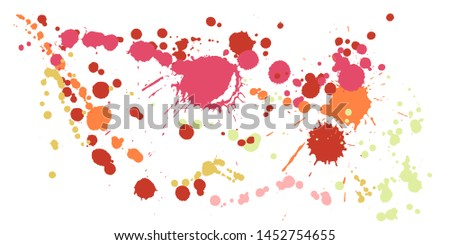 Modern watercolor spray background - Download Free Vector Art, Stock