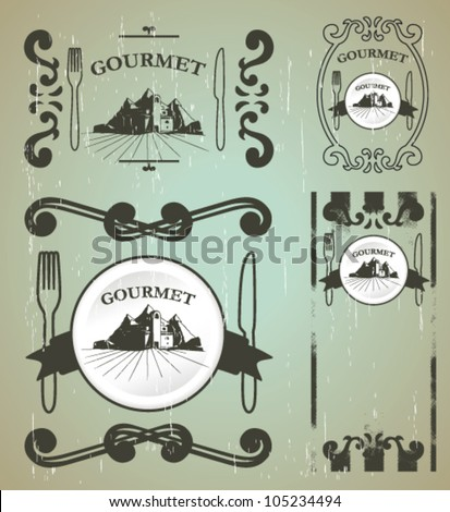 gourmet shields with old style