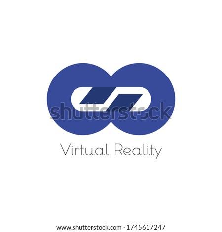 GP Virtual Reality logo, 3D VR Eyewear Concept