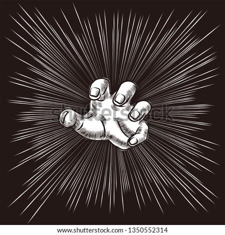 grab hand graphic novel comic