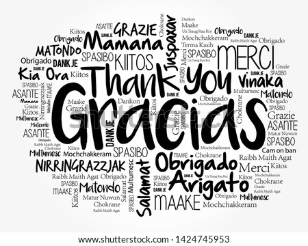 gracias  thank you in spanish