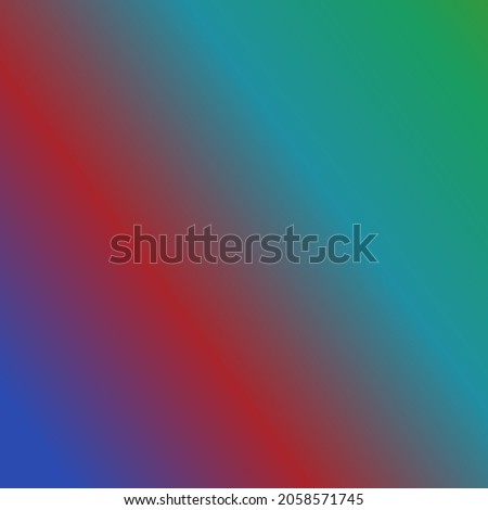 Gradient abstract background with blue, red, cyan and green colour