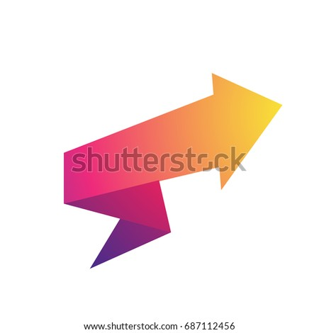Vector Images Illustrations And Cliparts Gradient Arrow Design For