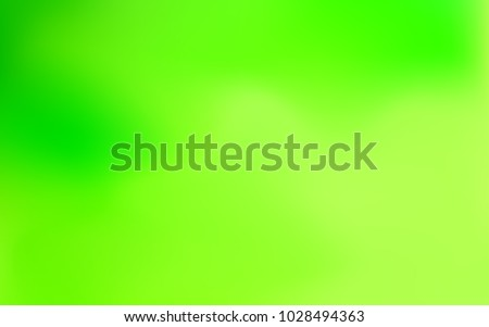 Gradient Background. Abstract Blurred Background. Creative Wallpaper for Design. Gradient in Green and Blue Colors for Banner, Poster, Cover, Wallpaper, Paper. Colorful Abstraction. Vector Template.